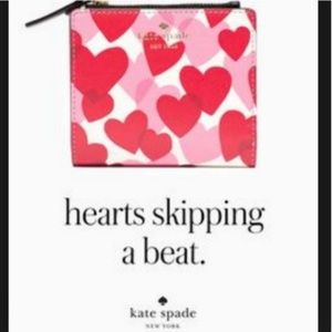 kate spade Yours Truly Adalyn Heart wallet nwt